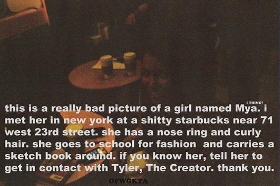 Tweeted by Tyler