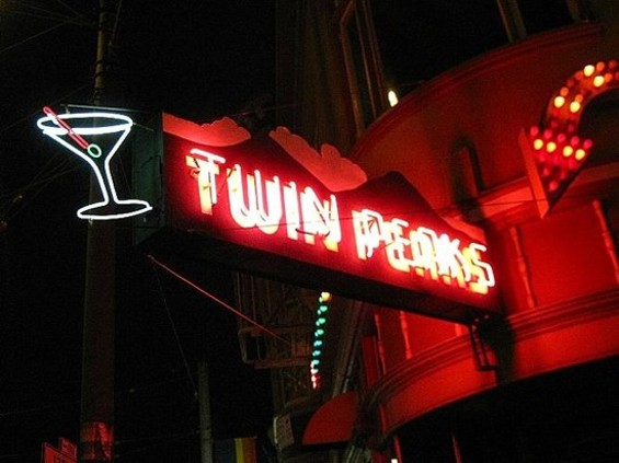 Twin Peaks, a comforting Castro tavern.