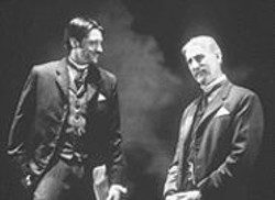 KEVIN  BERNE - Two Ages of Housman: James Cromwell (right) with Jason Butler Harner.