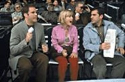 BRIAN  HAMILL - Two Guys and a Girl: Will Ferrell, Radha - Mitchell, and Steve Carell.