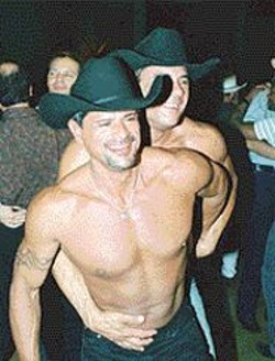 """BILL  WEAVER - Two-steppers at """"Hoedown 2002."""""""