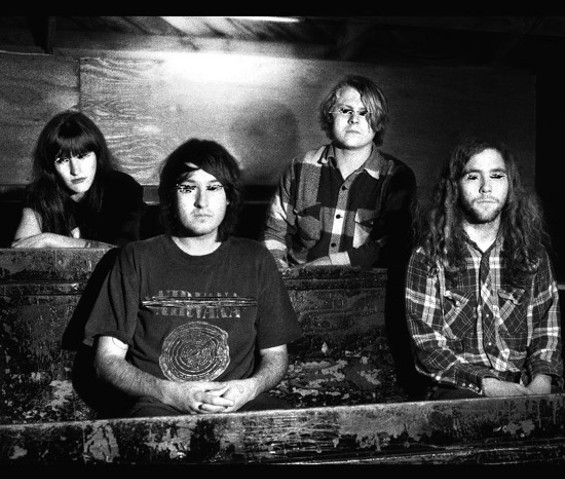 Ty Segall Band: Emily Rose Epstein, Mikal Cronin, Ty Segall, and Charlie Moonheart