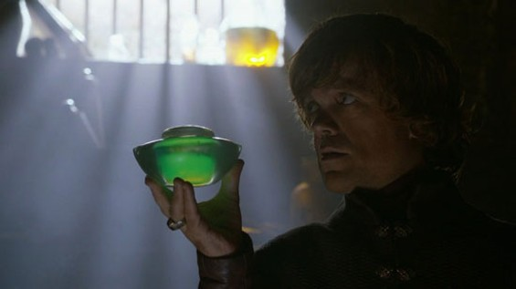Tyrion fights fire with wilder fire.