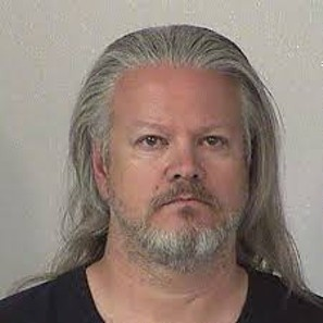 Mug shot of El Dorado County sheriff's Deputy Mark Zlendick, arrested on meth charges. - DOUGLAS COUNTY, NEVADA