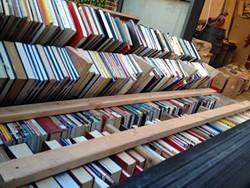 Over 51,000 books were sorted for the Lacuna book installation - BAY AREA BOOK FESTIVAL