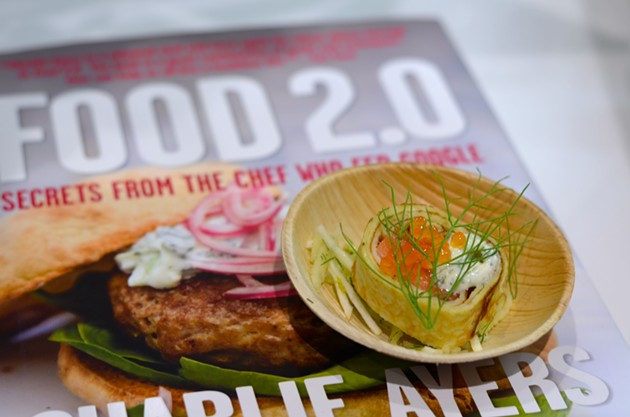 Blinis from Charlie Ayers - ALICE DISHES