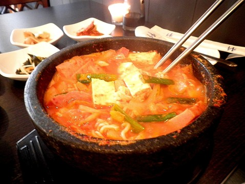 Army stew or, as its known in Korean, Budae Jjigae. - ERIC S. BURKETT