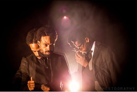 Artist Bilal with producer Adrian Younge - PHOTO BY PHESTO DEE