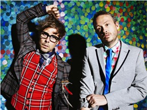 We recently caught up with Felix Buxton of Basement Jaxx (left in the photo; Simon Ratcliffe on right) ahead of their appearance at Public Works Friday, June 26.