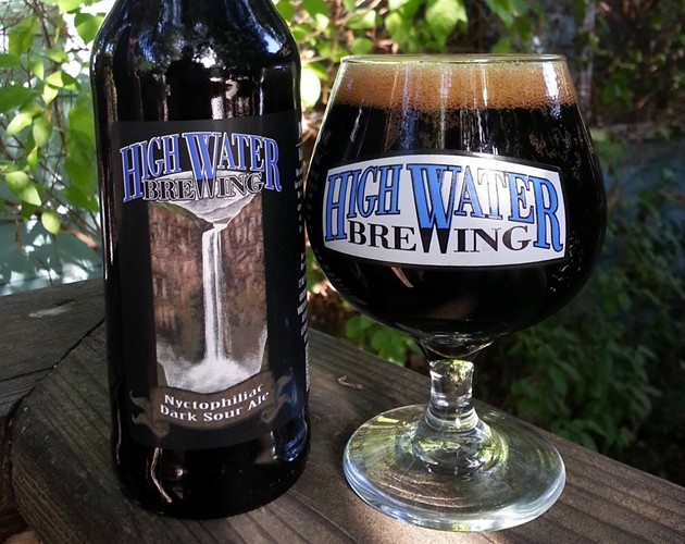 Nyctophiliac Dark Sour Ale - HIGH WATER BREWING