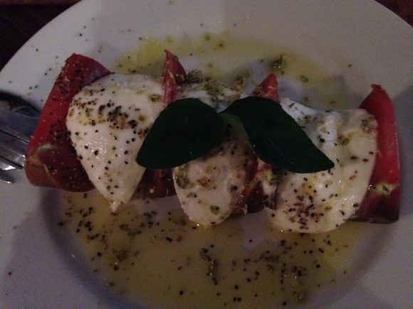 Montesacro's Caprese with plenty of oregano - TREVOR FELCH