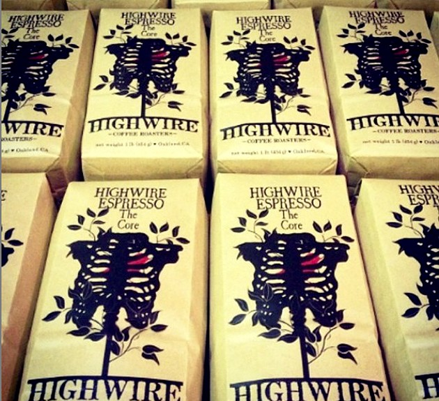 "Highwire Coffee's ""The Core"" espresso beans. - HIGHWIRE COFFEE"