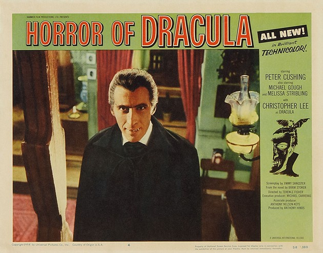 Christopher Lee, Superstar - HAMMER FILMS