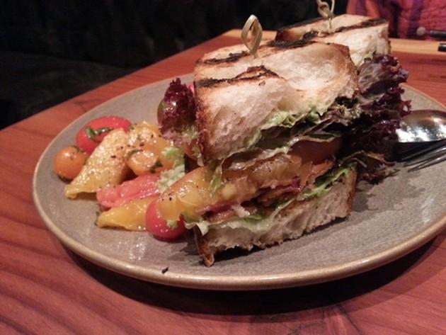 BLTA sandwich - MARY LADD