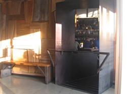 Interior, wood walls - NATHANIEL WILLIAMS