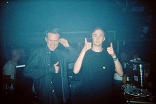 Joy Orbison (left) and Ben UFO go back-to-back all night at Public Works, Friday Aug. 21.