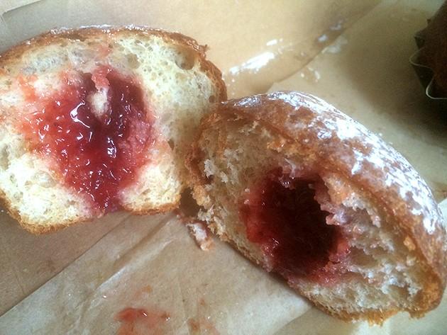 Brioche with strawberry jam - JEFFREY EDALATPOUR