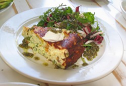 Frittata with roasted vegetables - NATHANIEL WILLIAMS