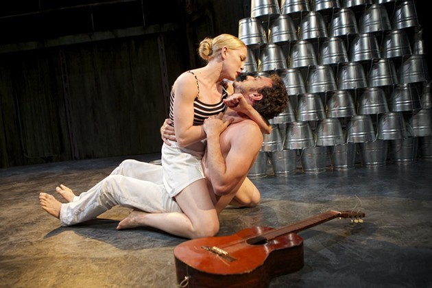 Megan Trout as Eurydice and Kenny Toll as Orpheus. - PAK HAN