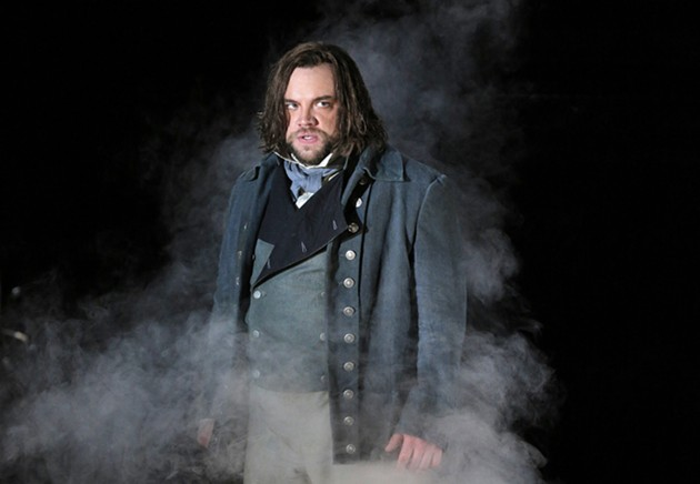 Brian Mulligan as Sweeney Todd - COURTESY OF  CORY WEAVER/SAN FRANCISCO OPERA