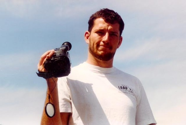 Mark Bingham shot hundreds of hours of videotape over the last decade of his life. - COURTESY OF WOOLF PR