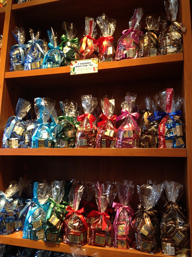 "The ""for purchase"" option in Ghirardelli Marketplace - A.K. CARROLL"