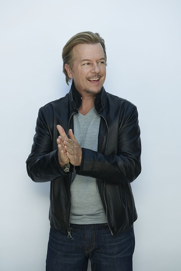 Comedian David Spade appears at Cobb's Comedy Club on Nov. 3. - PHOTO BY BRIAN BOWEN SMITH