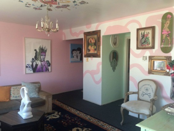 The inside of one of the rooms at Gazelle Palace - CAROLINE AUGUSTA