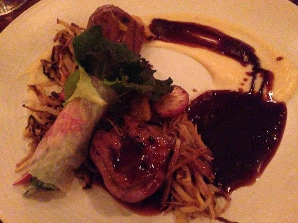 Reverb's Duck Breast (Pardon the photo clarity but it's a dark restaurant!) - TREVOR FELCH