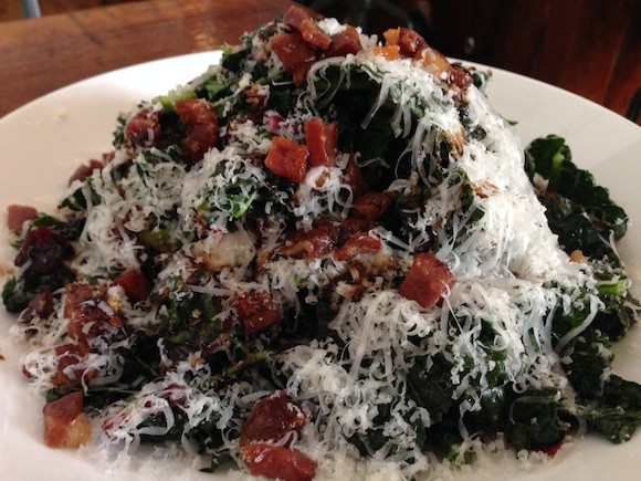 Darwin Café's Kale Salad - TREVOR FELCH