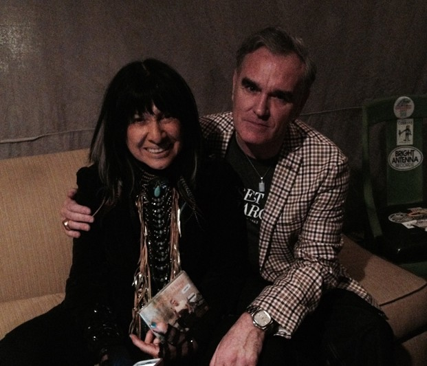 Buffy Sainte-Marie and Morrissey - CREDIT: TRUE TO YOU