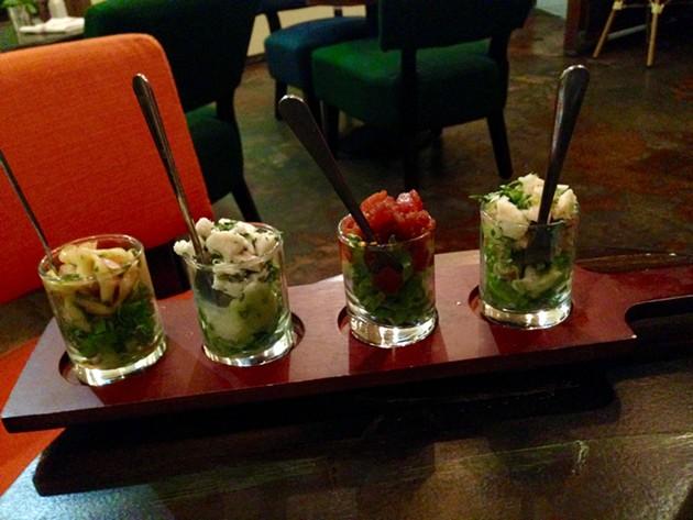 Ceviche trio