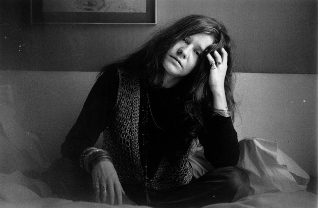Janis Joplin photographed in Denmark in 1970, the same year she died of a heroin overdose. - GETTY IMAGES; JAN  PERSSON/CONTRIBUTOR