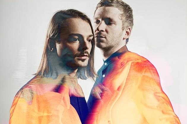 Icelandic techno duo, Kiasmos, consisting of Ólafur Arnalds and Janus Rasmussen. - CREDIT:HEDINN EIRIKSSON