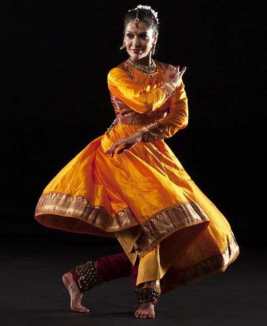 Dancer: Rachna Nivas - PHOTO BY MARGO MORITZ