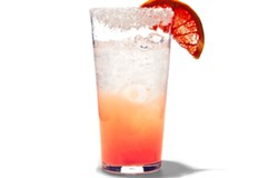 A Paloma cocktail - VIA BON APPETIT