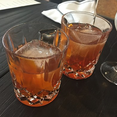 Porcini negronis at the Keystone - PETER LAWRENCE KANE