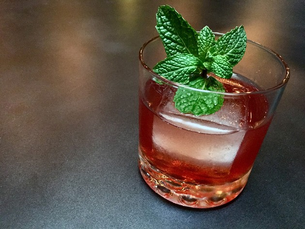 Barbarossa's Margo St. James cocktail - KEVIN KELLEHER