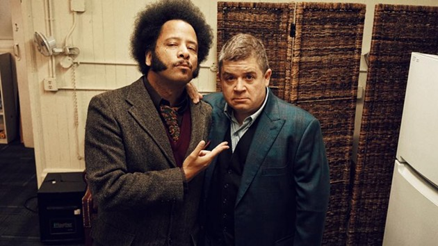 Boots Riley and Patton Oswalt - PHOTO BY: STEVE AGEE