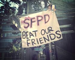 SFSU protest, 2013. - STEVE RHODES/FLICKR