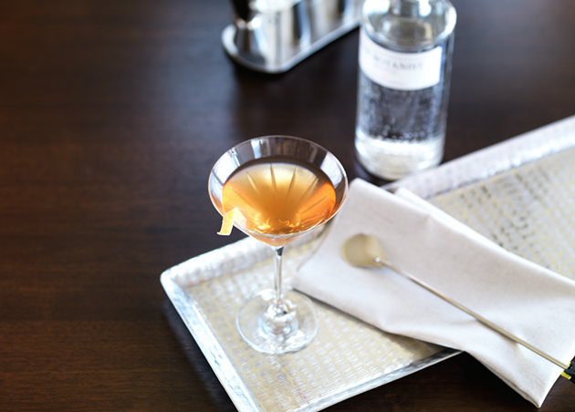 The Perfect Martinez - THE FAIRMONT HOTEL