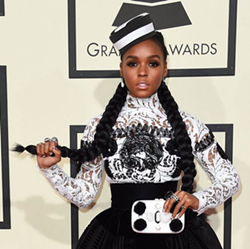 At the Grammys - INSTAGRAM/JANELLE MONÁE