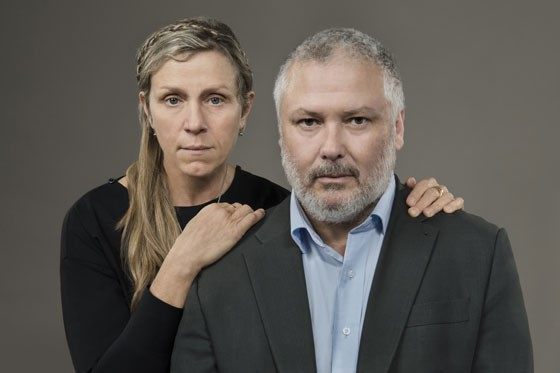 Frances McDormand and Conleth Hill star as Shakespeare's notorious couple in 'Macbeth' - COURTESY OF KEVIN BERNE