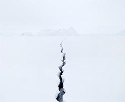 Jean de Pomereu, Fissure 2 (Antarctica), 2008.