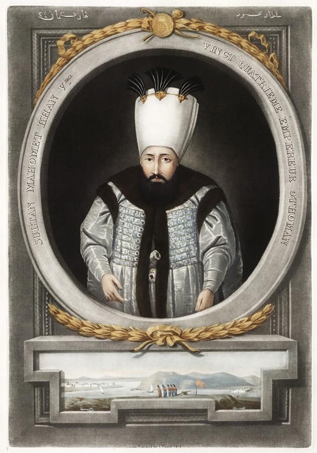 Portrait of Mahmud I - NATIONAL GALLERY OF ART LIBRARY, WASHINGTON, D.C.