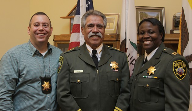 Looking good. - WWW.SFSHERIFFSMSA.COM