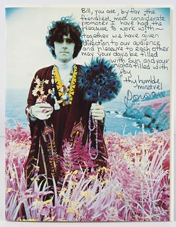 Letter from Donovan to Bill Graham, 1967 - CJM