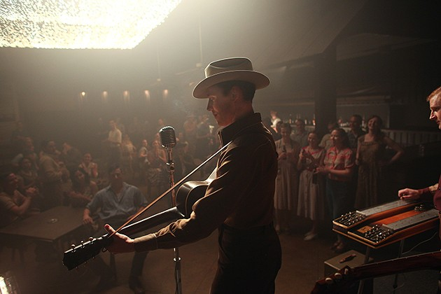 Tom Hiddleston as Hank Williams - SAM EMERSON, COURTESY OF SONY PICTURES CLASSICS