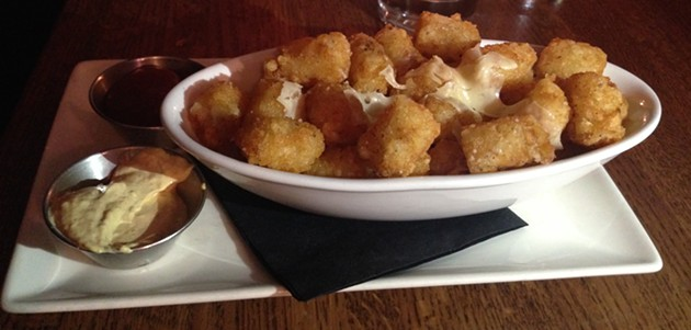 Duck fried tater tots