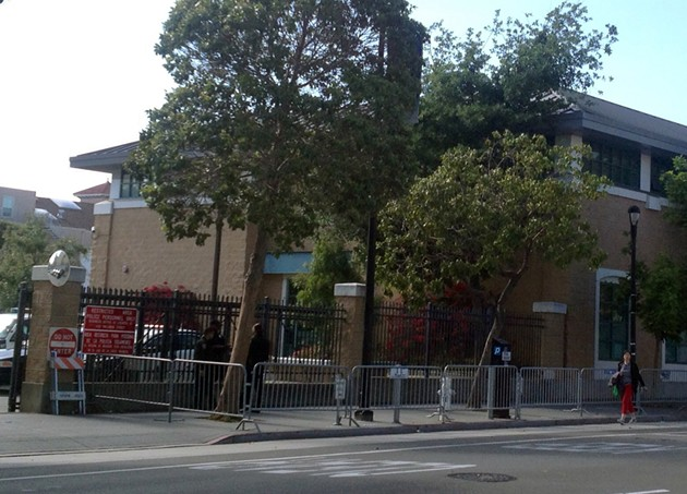 Walking in the bike lane. - ARNO ROSENFELD/SF WEEKLY